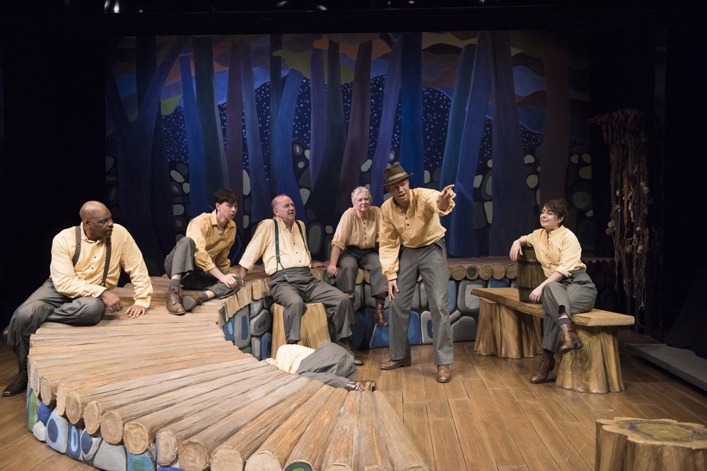 The cast of 1837: The Farmers' Revolt.