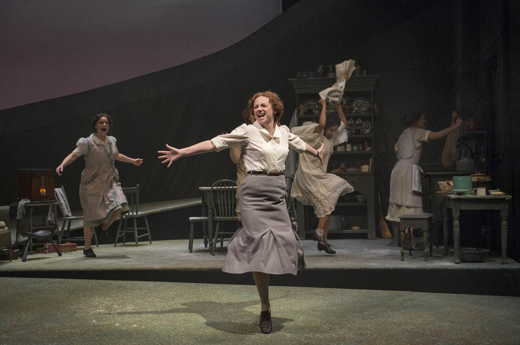 The cast of Dancing at Lughnasa. Photo by David Cooper.